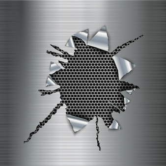 Metaliczny wzór tła
