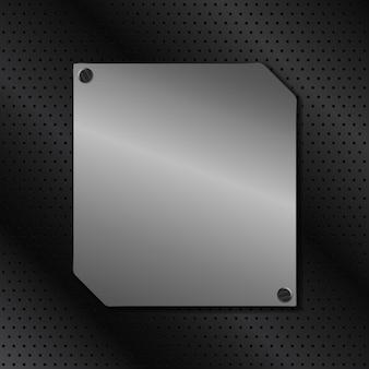 Metalowa tablica tło