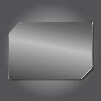 Metalowa tablica
