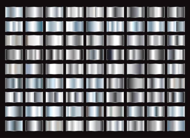 Metalowe gradienty kolekcji