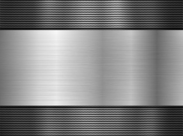 Metalowe perforowane tło