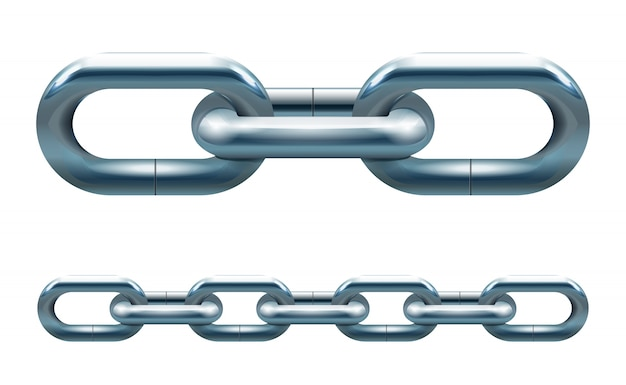 Metalowy łańcuch