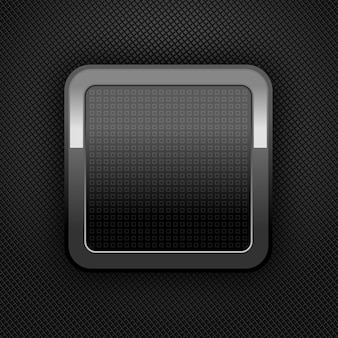 Metalowy przycisk www