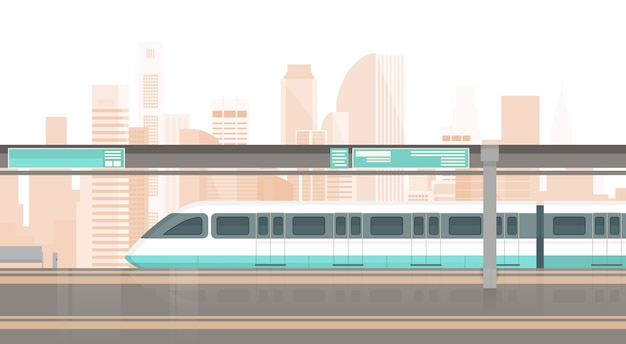 Metro tramwaj nowoczesny miejski transport publiczny