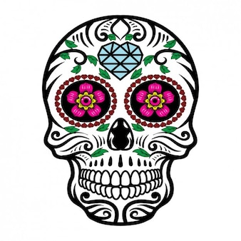 Mexican konstrukcja czaszki