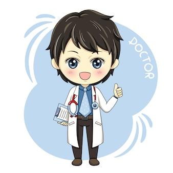 Mężczyzna doktor