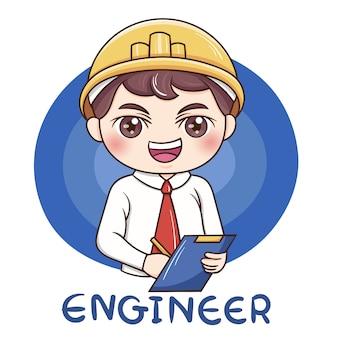 Mężczyzna inżynier