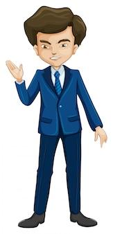 Mężczyzna w stroju formalnym