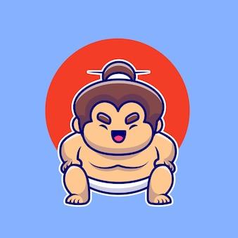 Mężczyzna zapaśnik sumo