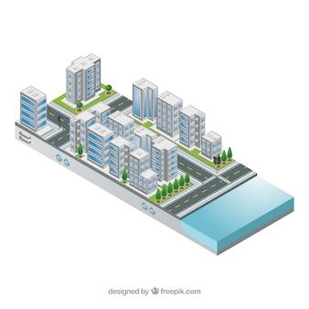 Miasto elektroniczne izolowane