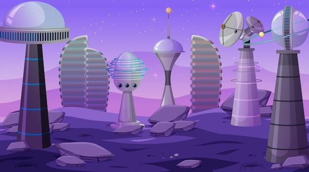 Miasto na scenie kosmicznej