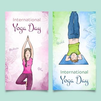 Międzynarodowy dzień bannerów jogi