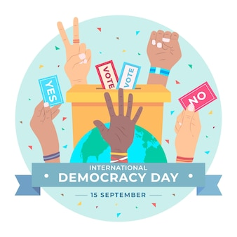 Międzynarodowy dzień demokracji z głosowaniem