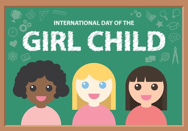 Międzynarodowy dzień dziecka dziewczynki