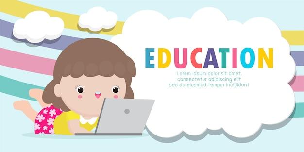 Międzynarodowy dzień edukacji w tle