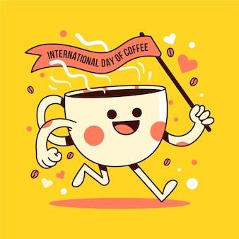 Międzynarodowy dzień ilustracji kawy