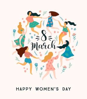 Międzynarodowy dzień kobiet.