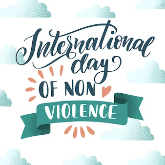 Międzynarodowy dzień koncepcji napisu bez przemocy