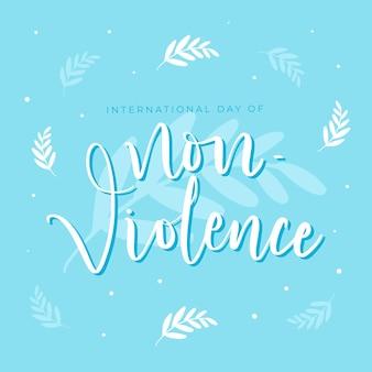 Międzynarodowy dzień napisów o braku przemocy