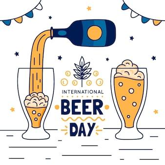 Międzynarodowy dzień piwa w okularach