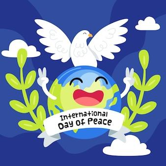 Międzynarodowy dzień pokoju z ziemią