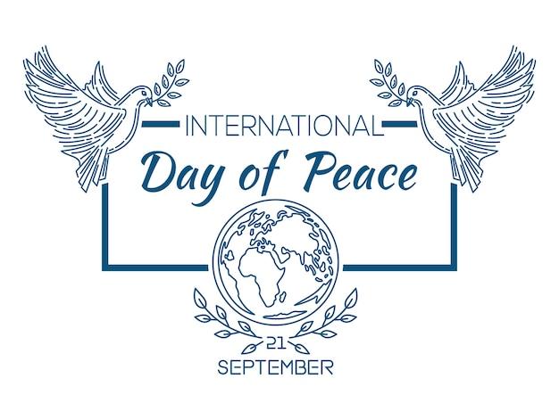 Międzynarodowy dzień pokoju znany jako światowy dzień pokoju