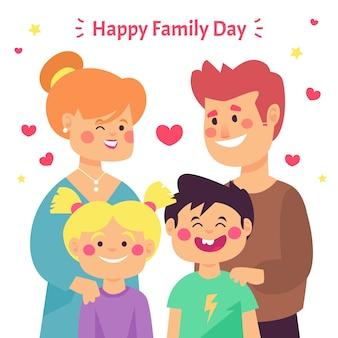 Międzynarodowy dzień rodziny płaska