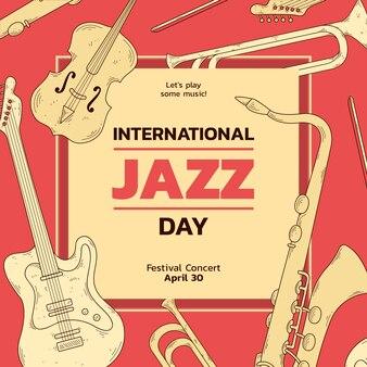 Międzynarodowy dzień saksofonu jazzowego i gitary