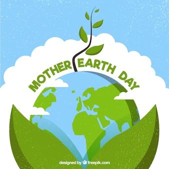 Międzynarodowy dzień ziemi tło