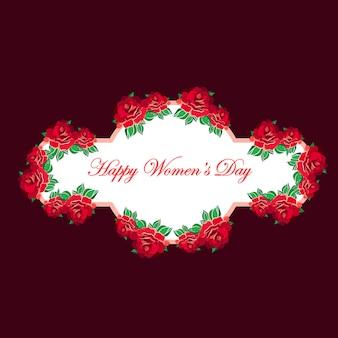 Międzynarodowy kartkę z życzeniami z okazji dnia kobiet 8 marca