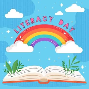 Międzynarodowy motyw dnia czytania i pisania