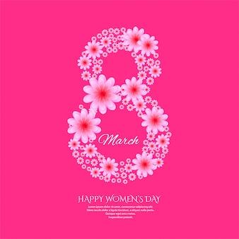Międzynarodowy plakat z okazji dnia kobiet