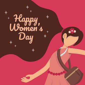 Międzynarodowy szczęśliwy dzień kobiet.