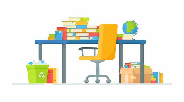 Miejsce pracy ucznia
