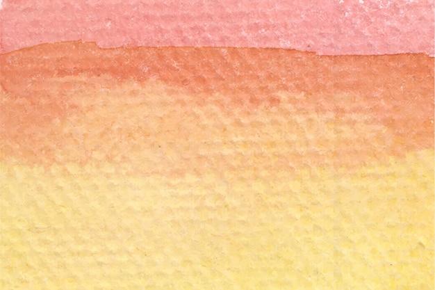 Miękki pomarańczowy streszczenie tło akwarela