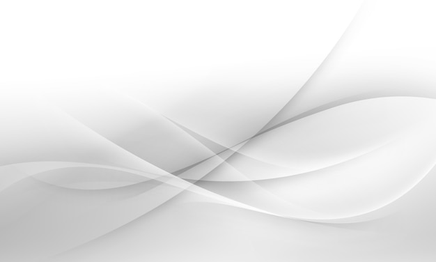 Miękkie białe i szare tło fala