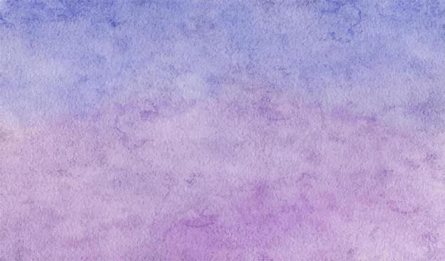 Miękkie fioletowe abstrakcyjne tło akwarela ręcznie malowane