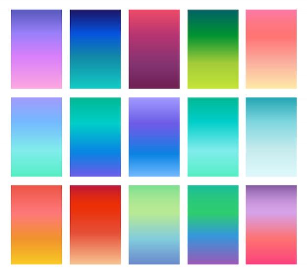 Miękkie kolory tła gradientowego.