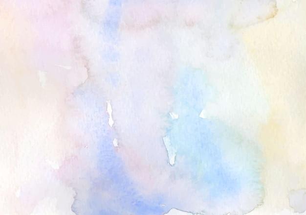 Miękkie pastelowe niebo akwarela tło