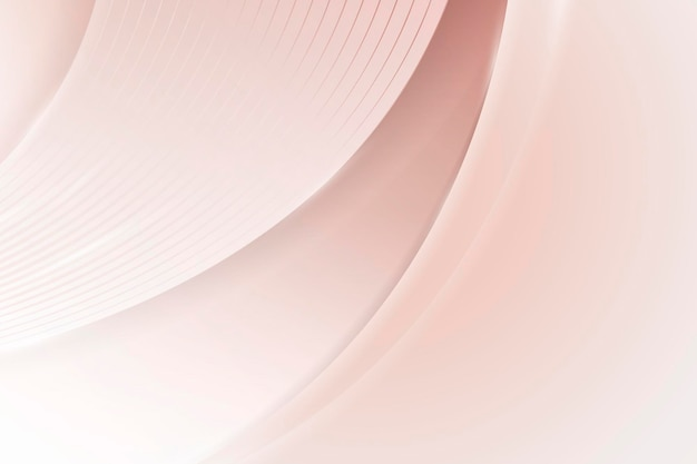 Miękkie różowe abstrakcyjne zakrzywione tło