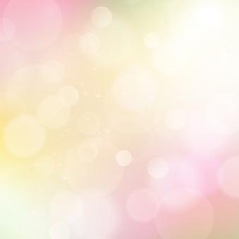 Miękkie różowe i żółte tło