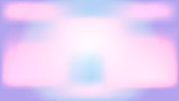 Miękkie tło gradientowe w pełnym kolorze