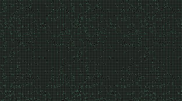 Miękkie zielone tło technologii, hi-tech cyfrowe i koncepcja bezpieczeństwa