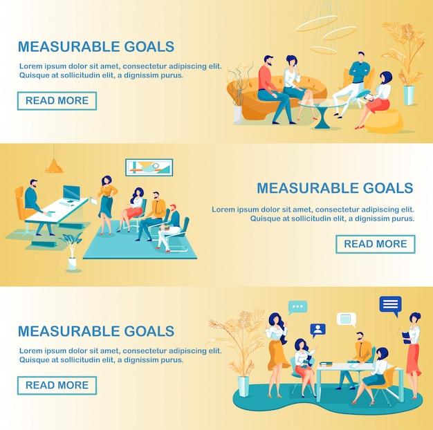 Mierzalne cele technologia biznesowa dla firmy.