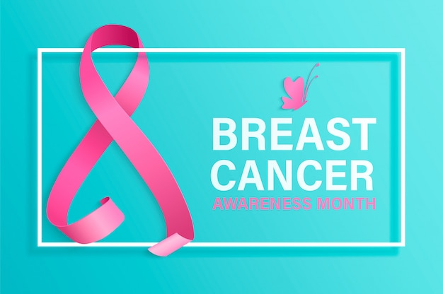 Miesiąc świadomości raka piersi.