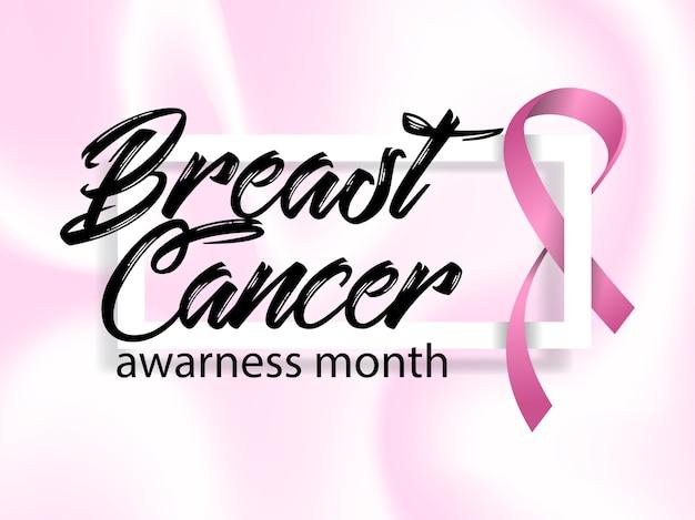 Miesiąc świadomości raka piersi