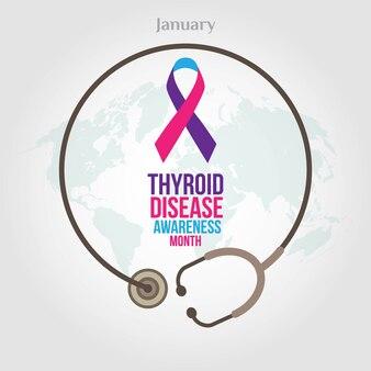 Miesiąc świadomości raka tarczycy