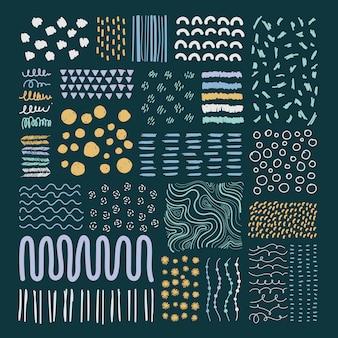 Mieszane wzory tła