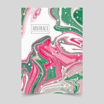 Mieszanka farb akrylowych, sztuka płynów, wzór tekstury marmuru, nowoczesne dzieła sztuki, malarstwo abstrakcyjne