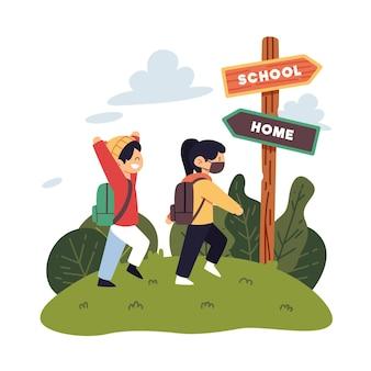 Mieszkanie bez dzieci wraca do szkoły
